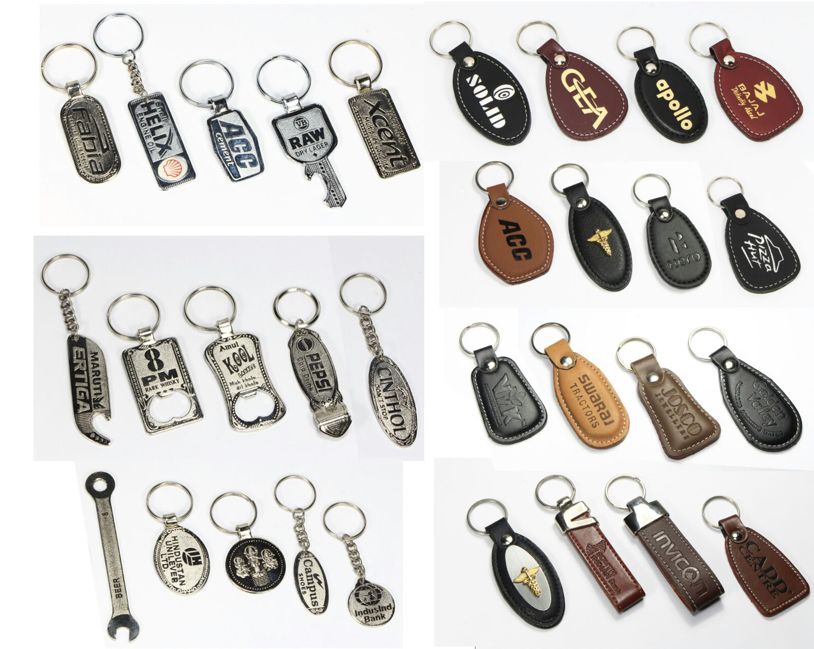 Key Rings Badges Printing
